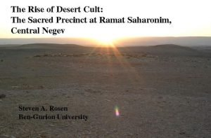 The rise of the desert